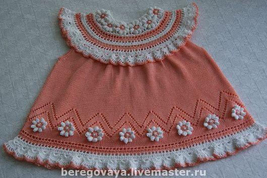 Одежда для девочек, ручной работы. Ярмарка Мастеров - ручная работа. Купить Платье для девочки Хризантема. Handmade. Платье, платье крючком