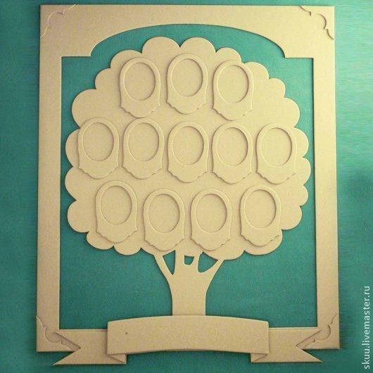 Открытки и скрапбукинг ручной работы. Ярмарка Мастеров - ручная работа. Купить Набор для создания семейного дерева. Handmade. Серый