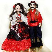 Dolls handmade. Livemaster - original item Gypsy and Gypsy-porcelain dolls. Handmade.
