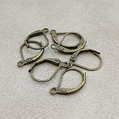 Материалы для творчества handmade. Livemaster - original item Earrings bronze French castle (367). Handmade.