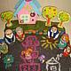 """Кукольный театр ручной работы. """"Моя семья"""" - игровой набор. Happy Hobby (Яна). Ярмарка Мастеров. Пальчиковые игрушки, миниатюра"""