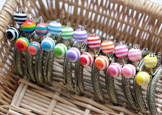 Шитье ручной работы. Ярмарка Мастеров - ручная работа. Купить Фермуар Карамельные конфеты вассортименте, бронза 8,5 см. Handmade.