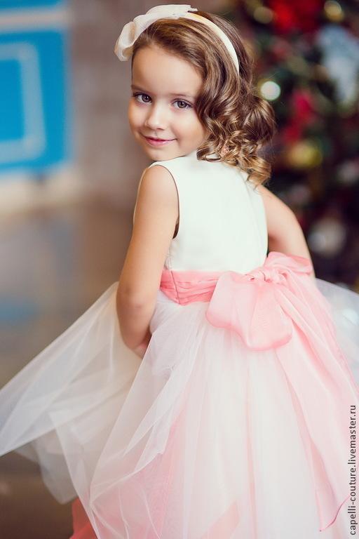 6c7f4120f2910a2 Пион нарядное платье для девочки – купить в интернет-магазине на ...