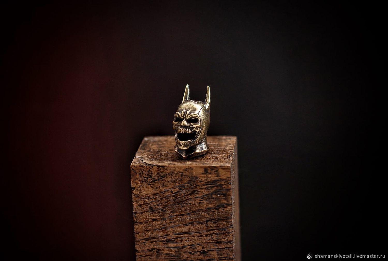 Batman Bead, Bronze Batman bead, Knives, Volgograd,  Фото №1