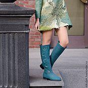 Обувь ручной работы handmade. Livemaster - original item Felted boots Safari. Handmade.