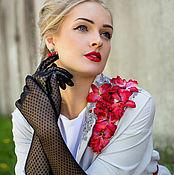 "Одежда ручной работы. Ярмарка Мастеров - ручная работа Плащ""Royal Lily"". Handmade."