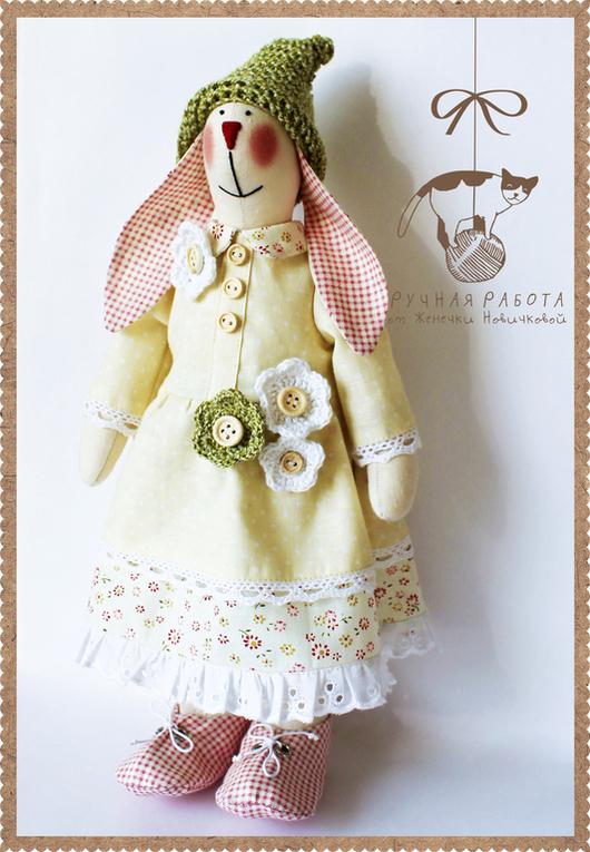 Куклы Тильды ручной работы. Ярмарка Мастеров - ручная работа. Купить Зайка в стиле Тильда Пашенька. Handmade. Зайка