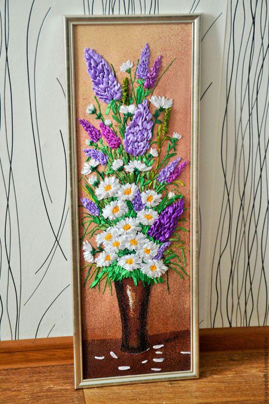 72смх25,5см  `Цветы в вазе`