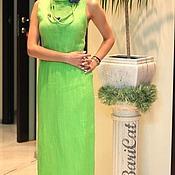 Одежда handmade. Livemaster - original item Lime dress. Handmade.