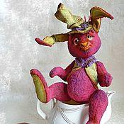 Куклы и игрушки ручной работы. Ярмарка Мастеров - ручная работа Заяц тедди. Мартовский заяц (Безумное чаепитие). Handmade.