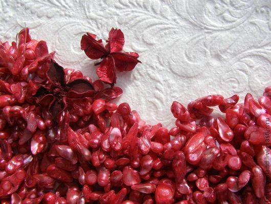 Для украшений ручной работы. Ярмарка Мастеров - ручная работа. Купить Жемчуг блистер красно-розового цвета.. Handmade.