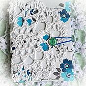 Канцелярские товары ручной работы. Ярмарка Мастеров - ручная работа Блокнот Морозный.. Handmade.