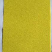 Материалы для творчества handmade. Livemaster - original item the soft felt sheet 1 mm 20 x 30 color lemon yf643. Handmade.
