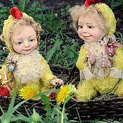 Куклы и игрушки ручной работы. Ярмарка Мастеров - ручная работа Цыплята. Handmade.