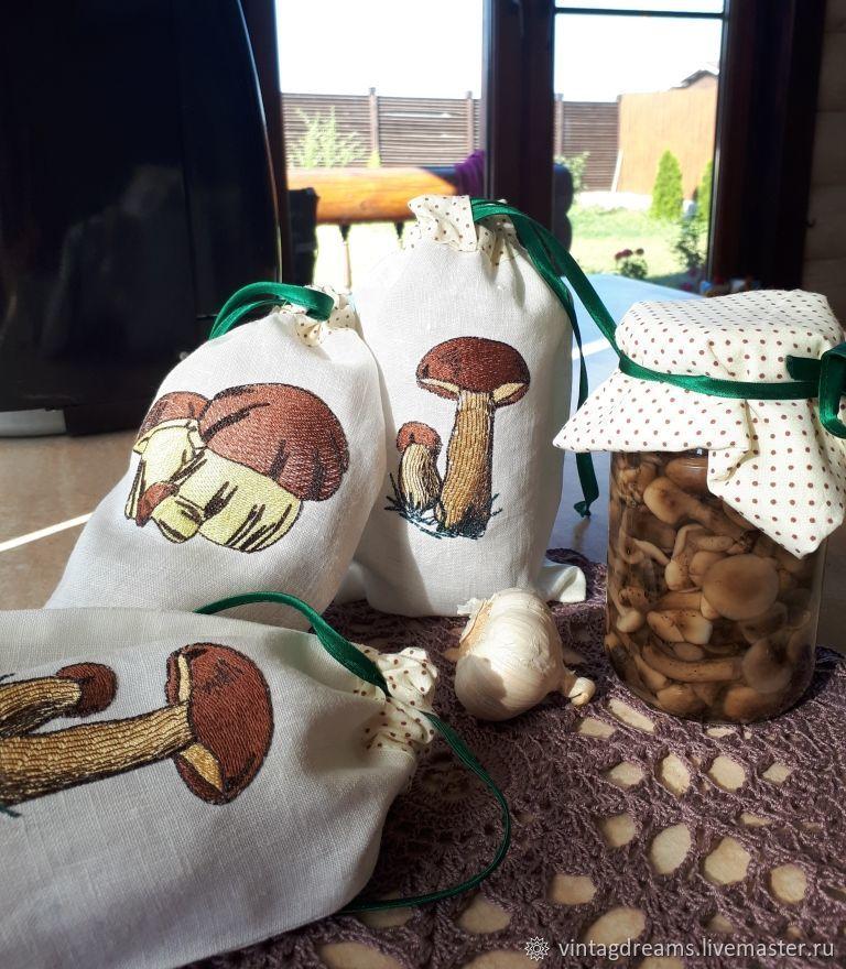 Bags of mushrooms, Utensils, Rostov-on-Don,  Фото №1