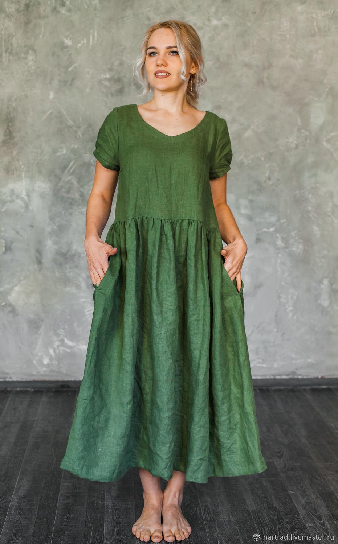 summer linen dress, Dresses, Anapa,  Фото №1