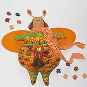 Куклы и игрушки ручной работы. Ярмарка Мастеров - ручная работа Тильда Жук Тыквенный. Handmade.