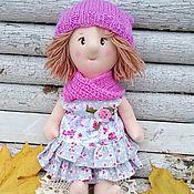 Куклы и игрушки ручной работы. Ярмарка Мастеров - ручная работа Кукла текстильная игровая из трикотажа Патрисия. Handmade.