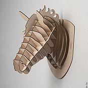Для дома и интерьера ручной работы. Ярмарка Мастеров - ручная работа Голова лошади. Handmade.