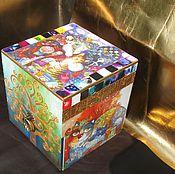 Для дома и интерьера handmade. Livemaster - original item Mini chest of drawers or jewelry box
