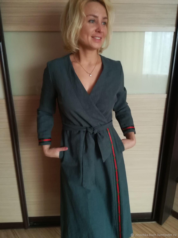 a331cf9f00d Платья ручной работы. Ярмарка Мастеров - ручная работа. Купить Платье с  запахом из вареной ...
