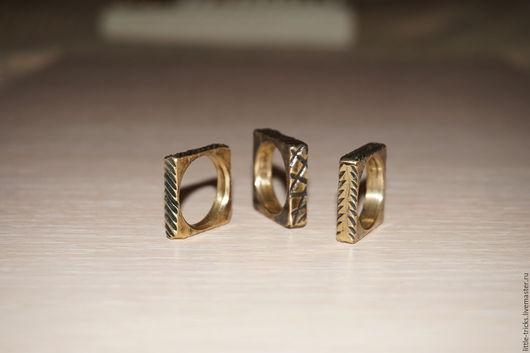Кольца ручной работы. Ярмарка Мастеров - ручная работа. Купить Кольца Пифагор №1, №2, №3. Handmade. Кольцо латунное