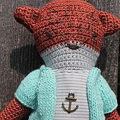 """Куклы и игрушки ручной работы. Ярмарка Мастеров - ручная работа Лисица """"Беатрис"""". Handmade."""