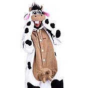 Субкультуры handmade. Livemaster - original item Costume kigurumi fleece Cow. Handmade.