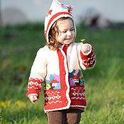 Одежда ручной работы. Ярмарка Мастеров - ручная работа Детская курточка 16cj01. Handmade.