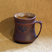 """Посуда ручной работы. Ярмарка Мастеров - ручная работа пивная кружка """"хмель"""". Handmade."""