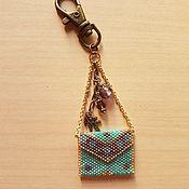 Аксессуары ручной работы. Ярмарка Мастеров - ручная работа Брелок для ключей -сумочка. Handmade.