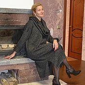 Платья ручной работы. Ярмарка Мастеров - ручная работа Платье-свитер меланж с аксессуарами. Handmade.