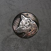 Украшения handmade. Livemaster - original item The Wite Fox. Handmade.