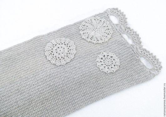 Текстиль, ковры ручной работы. Ярмарка Мастеров - ручная работа. Купить Вязаный коврик из овечьей шерсти Зимнее солнце. Handmade.