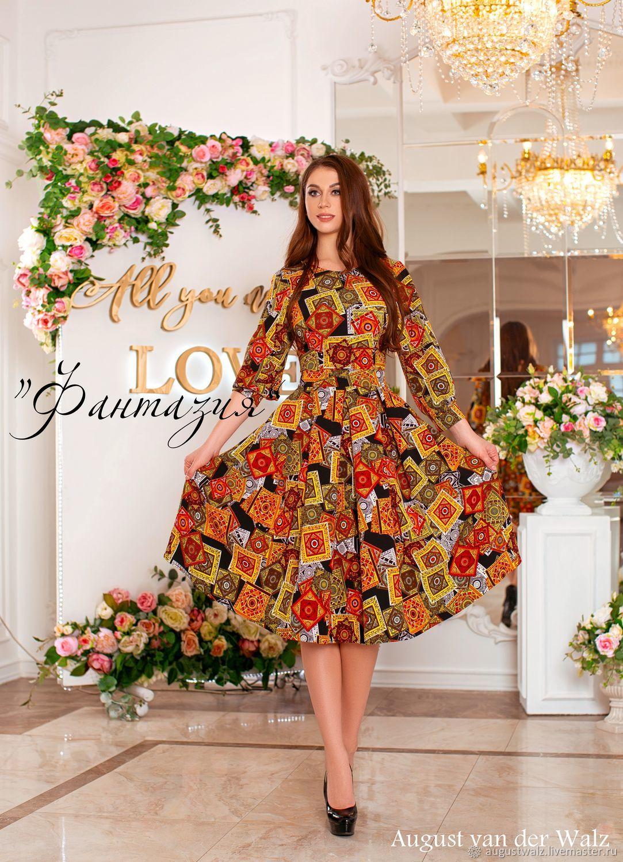 b74edf1e52e Платья ручной работы. Последние размеры! платье в миди длине Spring Summer  2019.