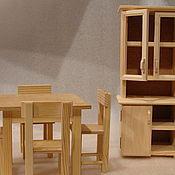 Куклы и игрушки ручной работы. Ярмарка Мастеров - ручная работа обеденная зона. Handmade.