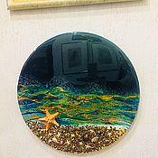 Картины ручной работы. Ярмарка Мастеров - ручная работа Панно «Море». Handmade.