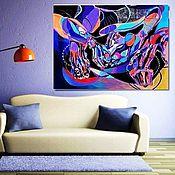 """Картины и панно ручной работы. Ярмарка Мастеров - ручная работа Абстракция  """"В лабиринте"""". Handmade."""