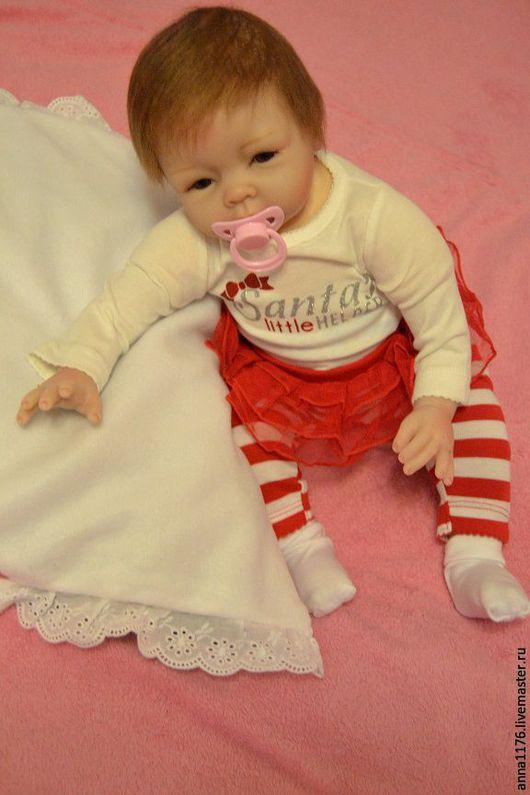 Куклы-младенцы и reborn ручной работы. Ярмарка Мастеров - ручная работа. Купить Кукла малышка реборн девочка. Handmade. Кремовый