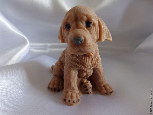 Мыло ручной работы. Ярмарка Мастеров - ручная работа. Купить Грустный щенок. Handmade. Коричневый, мыло сувенирное, малыш, щеночек