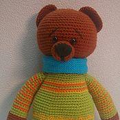 Куклы и игрушки ручной работы. Ярмарка Мастеров - ручная работа Медведь Мороша.. Handmade.
