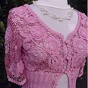"""Одежда ручной работы. Ярмарка Мастеров - ручная работа Жакет """"Июльские розы"""". Handmade."""