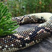 """Украшения ручной работы. Ярмарка Мастеров - ручная работа Колье """"Royal Python"""". Handmade."""