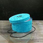 Материалы для творчества handmade. Livemaster - original item Round and hat boxes with a window. Handmade.