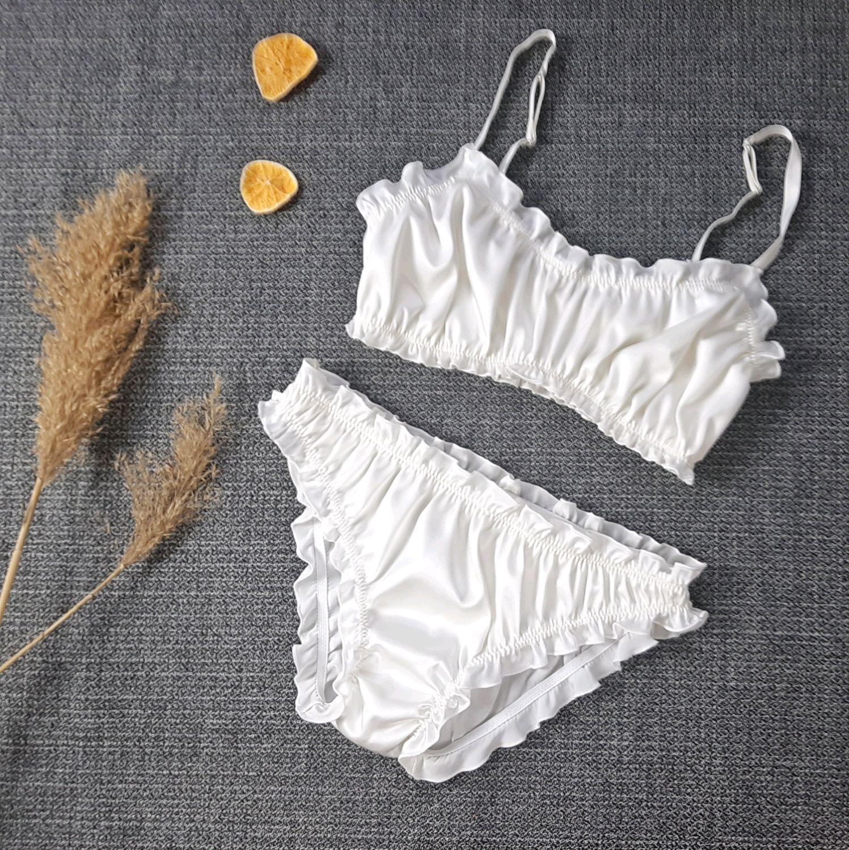 Silk set ' Milk meringue', Underwear sets, Volgograd,  Фото №1