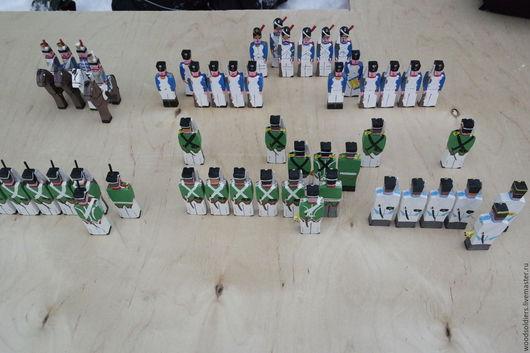 """Человечки ручной работы. Ярмарка Мастеров - ручная работа. Купить """"Баталия"""" набор. Handmade. Комбинированный, игрушки ручной работы, солдатики"""