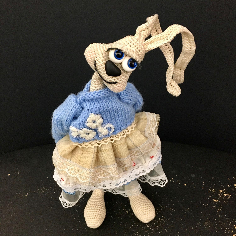 Зайка балеринка, Мягкие игрушки, Пушкин,  Фото №1