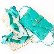 Обувь ручной работы handmade. Livemaster - original item Leather sandals for summer Odri / Sandals genuine leather. Handmade.