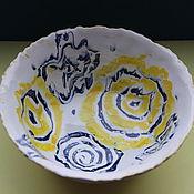 Посуда ручной работы. Ярмарка Мастеров - ручная работа Пиала Молоко и Рисунок. Handmade.