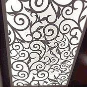 Люстры ручной работы. Ярмарка Мастеров - ручная работа Потолок с подсветкой в прихожей.. Handmade.